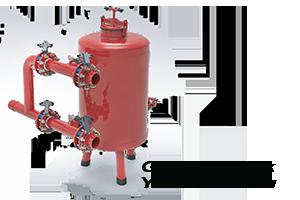 Gravel tank veya yosun tankı olarak bilinen bu damla sulama filtresi yine çıkışında bir disk filtre ile beraber kullanılır. Güneş ışığına maruz kalan sularda kesinlikle gravel tank (yosun tankı) kullanılmalırdır.